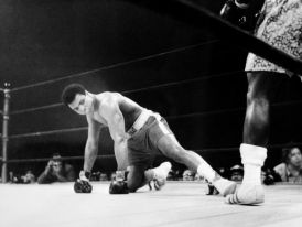 muhammad ali knocked down